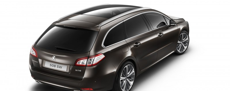 2015 Peugeot 508 Facelifted With New LED DRLs, Box-Design Beams and Tweaked Cabin Tech 26