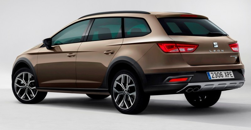 2015 SEAT Leon X-Perience Is Gravel-Ready Estate Car Coming to European Dealers In November 5