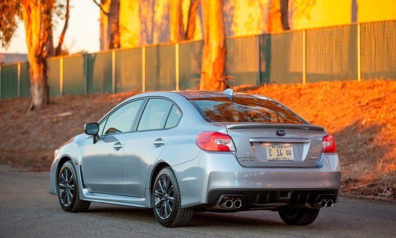2015 Subaru WRX Hits The Gravel In 90 New Photos in Four Colors 2