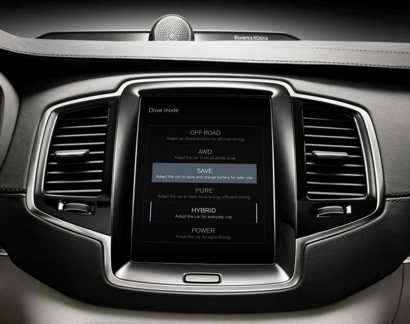 2015 VOLVO XC90 Powertrain Teaser - Twin-Engine PHEV with 400HP Dubbed T8, 316HP T6 Also Coming to USA 3
