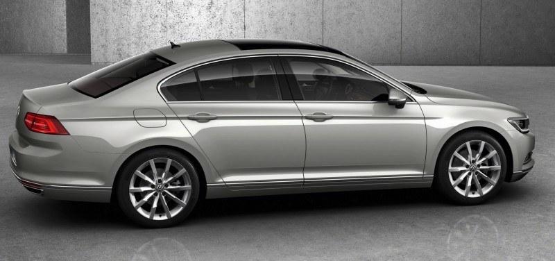 2015 Volkswagen Passat Debuts Fresh European-Model-Only Redesign 19