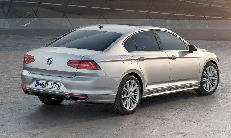 2015 Volkswagen Passat Debuts Fresh European-Model-Only Redesign 31