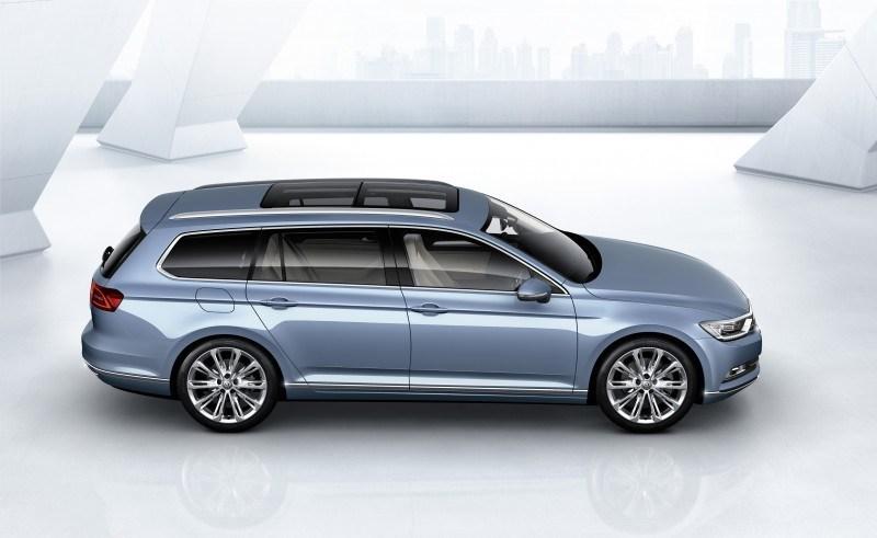 2015 Volkswagen Passat Debuts Fresh European-Model-Only Redesign 4