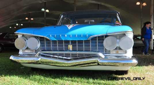 1960 Plymouth Fury NASCAR 24