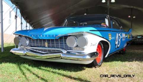 1960 Plymouth Fury NASCAR 27