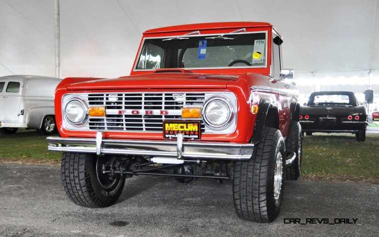 1970 Ford Bronco V8 Pickup 14