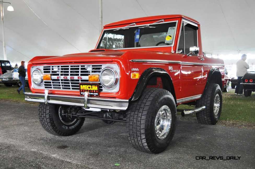 1970 Ford Bronco V8 Pickup 16