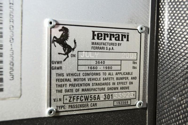 2003 Ferrari Enzo Silver 5