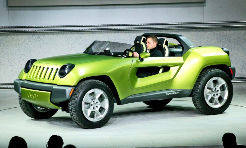 2008 Jeep® Renegade Concept World Debut Detroit - January 15, 20