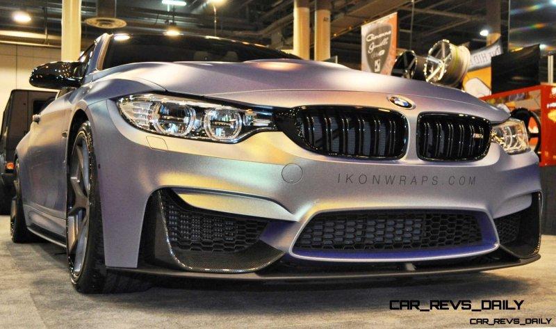 2015 BMW M4 by IKON Wraps 16