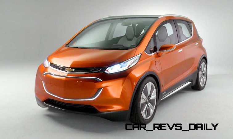 2015 Chevrolet BOLT EV Concept 12
