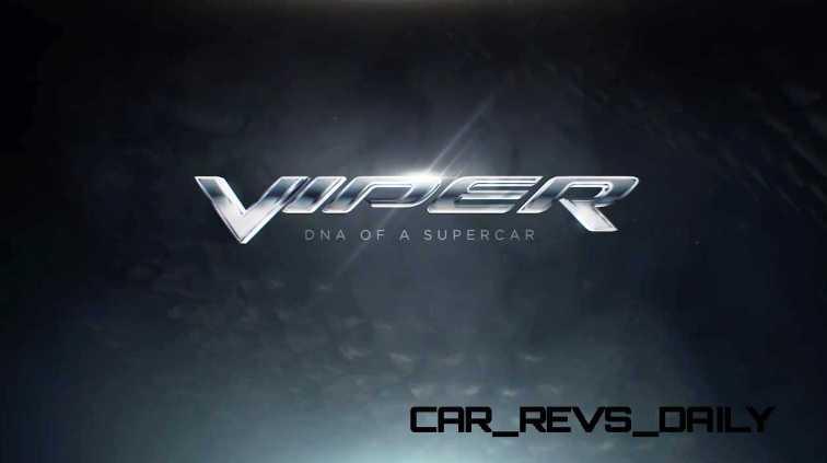 2015 Dodge Viper - DNA of a Supercar 2