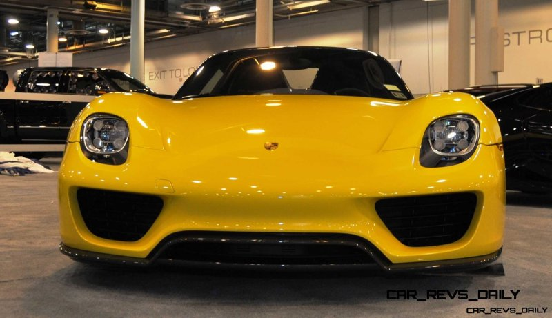 2015 Porsche 918 Spyder Weissach Package with XPEL Paint Protection 15