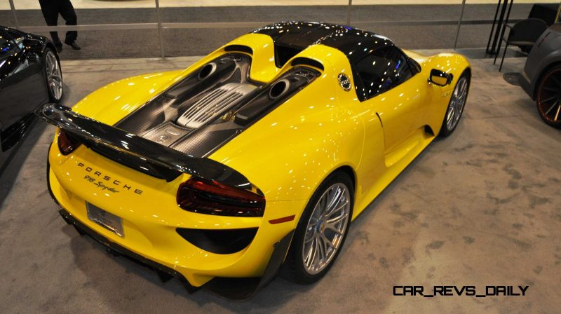 2015 Porsche 918 Spyder Weissach Package with XPEL Paint Protection 7