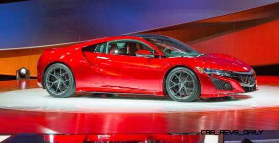Acura NSX Reveal at 2015 NAIAS