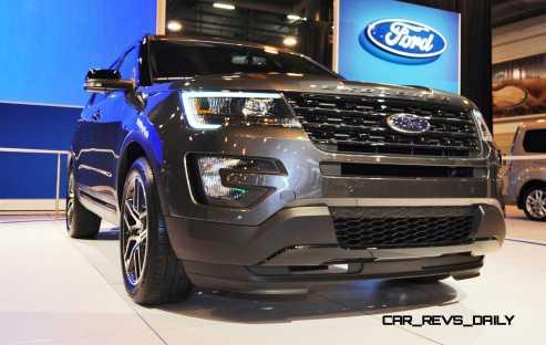 2016 Ford Explorer Sport 12