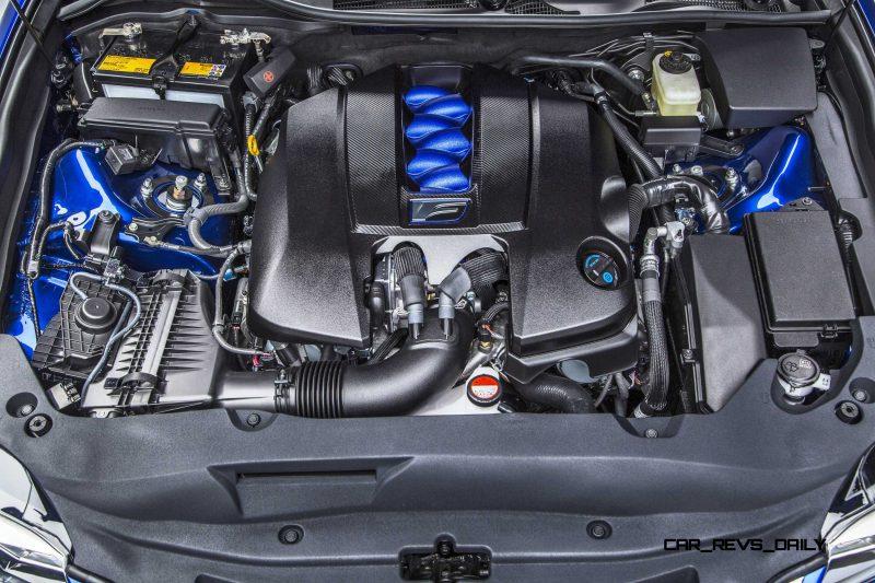 2016 Lexus GS F 16