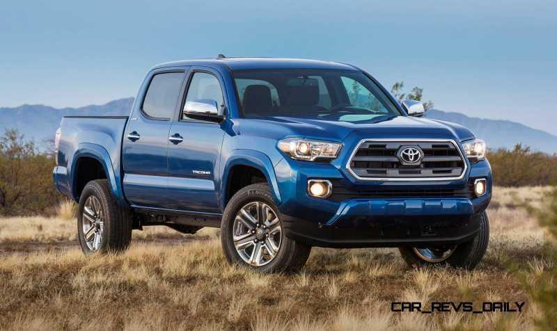 2016 Toyota Tacoma Limited 3