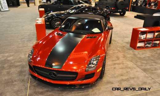 AMG SLS Roadster by IKON Wraps 7