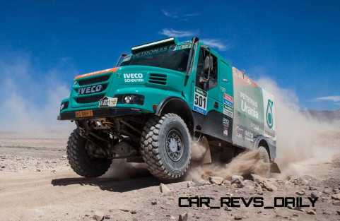Dakar 2015 - IVECO Powerstar 28