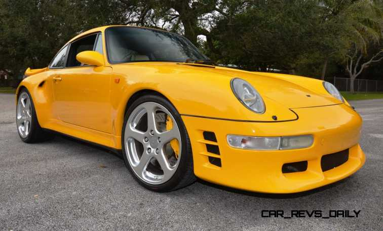 Fantasy Supercar Renderings - RUF Porsche 993 Turbo RS 7