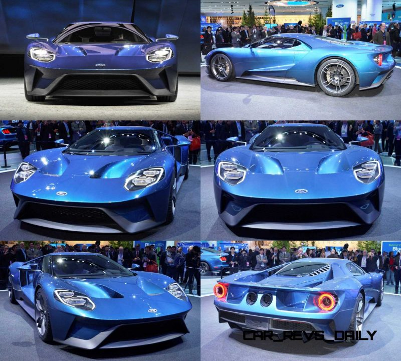 The all-new Ford GT was introduced to journalists from around th