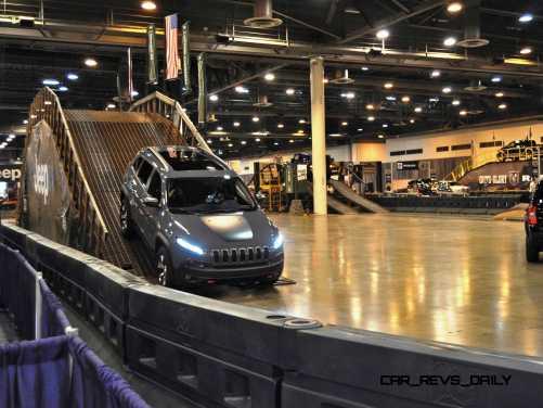 Houston Auto Show - Camp JEEP 13