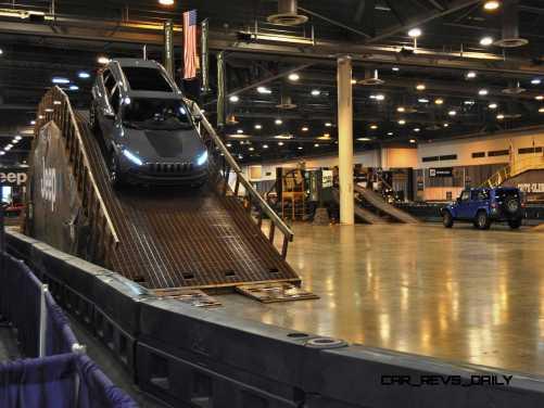 Houston Auto Show - Camp JEEP 6