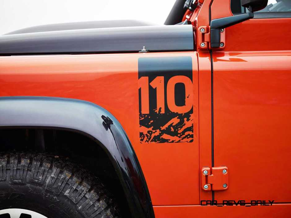 Land Rover Honors 2015 Defender Retirement with Trio of Special Editions 12