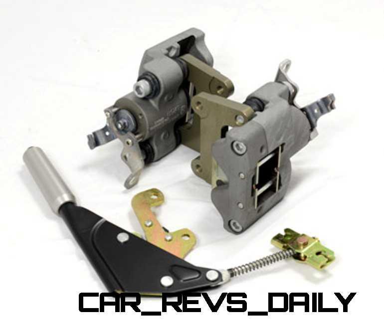 Mechanical Handbrake System for Rear Alcon 4 Pot Brakes_001