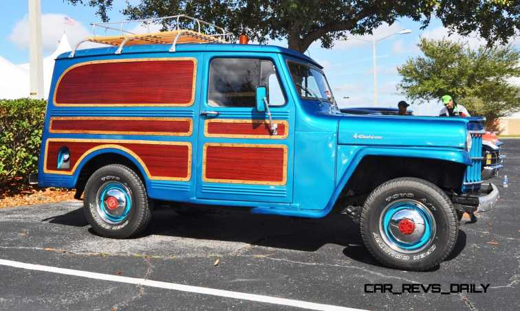 Mecum 2015 Florida Faves - 1962 Willys JEEP Utility Wagon 14