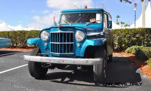 Mecum 2015 Florida Faves - 1962 Willys JEEP Utility Wagon 4