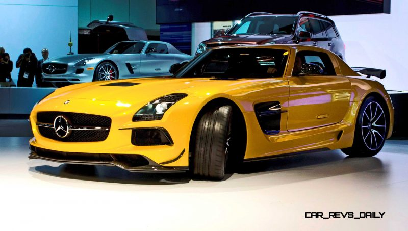 Mercedes-Benz at the Los Angeles International Auto Show 2012