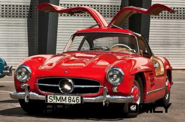 Mercedes-Benz Gullwing Supercar Evolution 70 copy - Copy