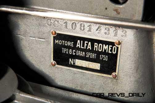 1931 Alfa Romeo 6C 1750 Gran Sport Spider by Zagato 21