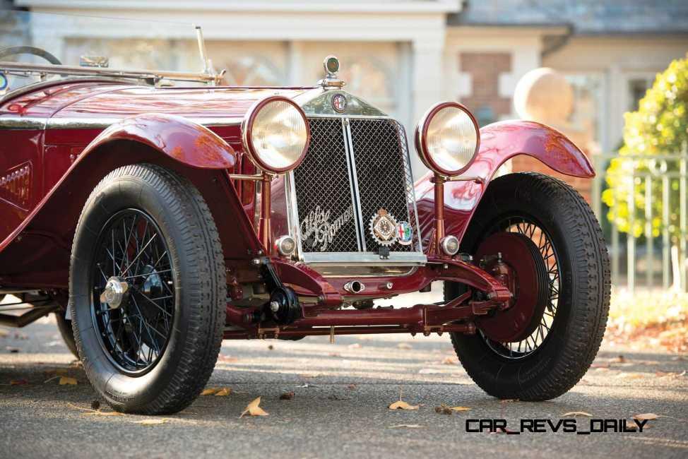 1931 Alfa Romeo 6C 1750 Gran Sport Spider by Zagato 9