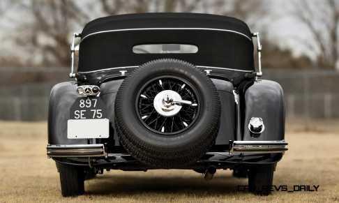 1935 Mercedes-Benz 500-540K Cabriolet A by Sindelfingen 19