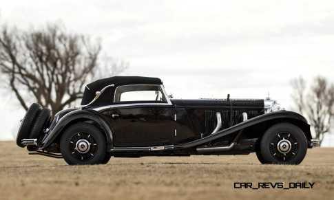 1935 Mercedes-Benz 500-540K Cabriolet A by Sindelfingen 4