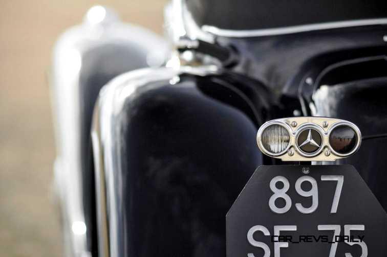 1935 Mercedes-Benz 500-540K Cabriolet A by Sindelfingen 9