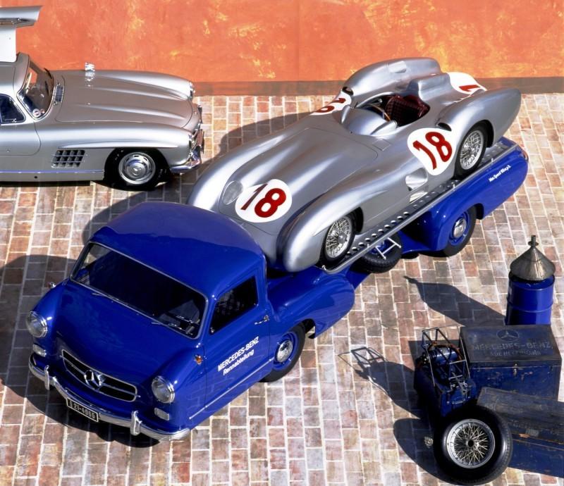 1954 Mercedes-Benz 'Blue Wonder' Race Transporter 38