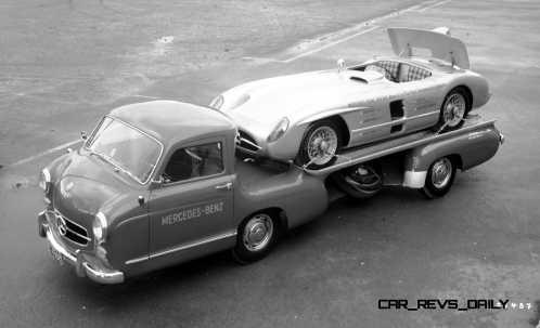 1954 Mercedes-Benz 'Blue Wonder' Race Transporter 47