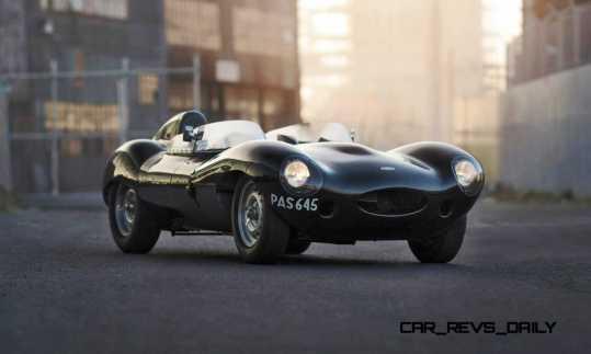 1955 Jaguar D-Type Twin-Cowl 1