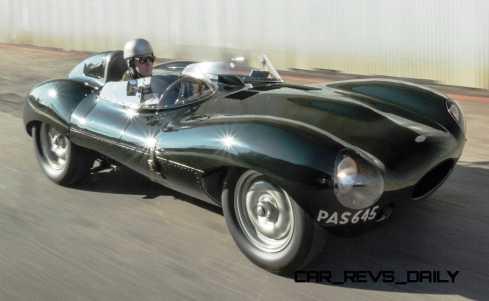 1955 Jaguar D-Type Twin-Cowl 9