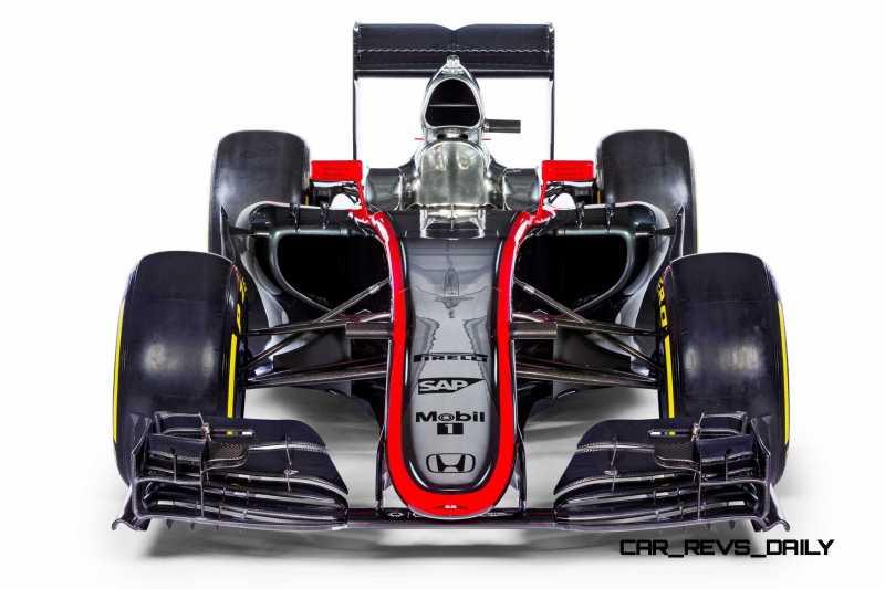 2015 F1 Cars Comparo - Infiniti RB11 vs McLaren-Honda MP4-30 vs AMG W06 vs Ferrari SF15T 26