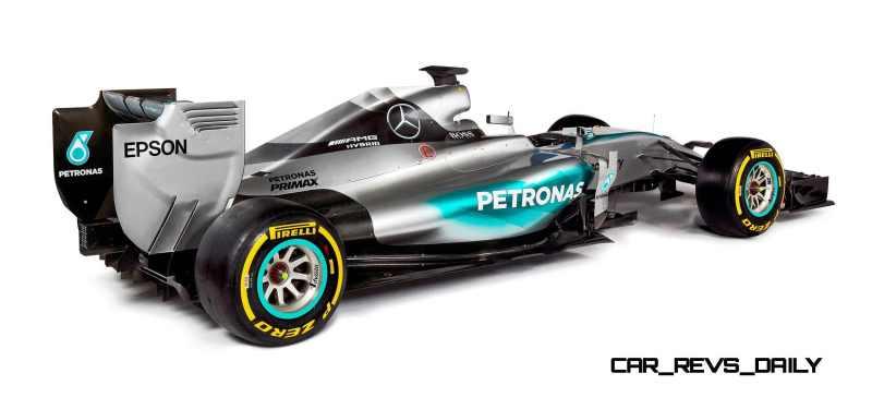 2015 F1 Cars Comparo - Infiniti RB11 vs McLaren-Honda MP4-30 vs AMG W06 vs Ferrari SF15T 42