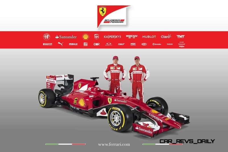 2015 F1 Cars Comparo - Infiniti RB11 vs McLaren-Honda MP4-30 vs AMG W06 vs Ferrari SF15T 7