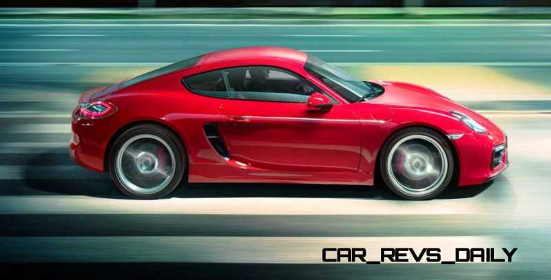 2015 Porsche Boxster and Cayman GTS 1
