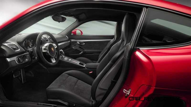 2015 Porsche Boxster and Cayman GTS 50