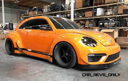 2015 Volkswagen Tanner Foust Racing ENEOS RWB Beetle 991