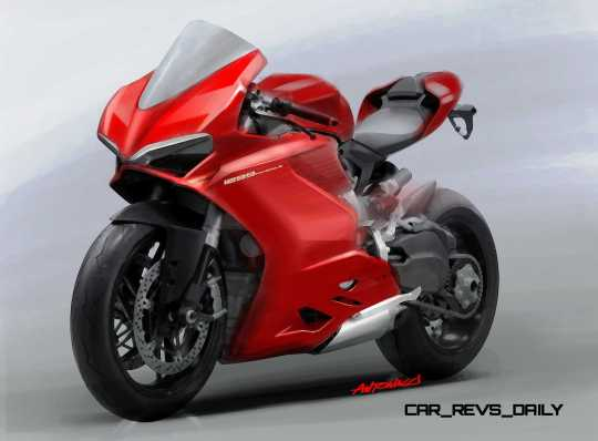 42-02 1299 PANIGALE SKETCH